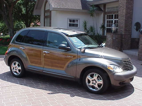 2002 pt cruiser woody ltd edition taupe cool. Black Bedroom Furniture Sets. Home Design Ideas