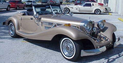 1934 mercedes 500k heritage replica