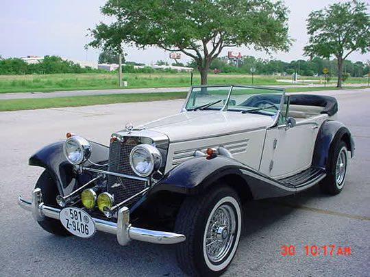 1936 mercedes 540k replica baron rare 4 seater w v8 2 for 1936 mercedes benz 540k replica