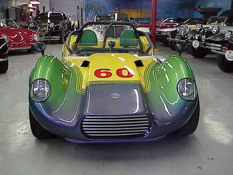 1961 Dio Tipo Custom Race Car Lotus 7 Replica Styling