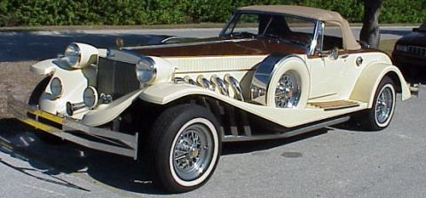 1983 Johnson Presidential Rumble Seat Roadster