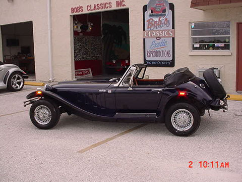 1986 Panther Kallista Navy Automatic 60s Morgan Styling